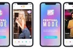 Tinder lance un mode Festival pour matcher en plein air