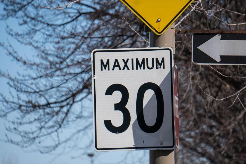Une limite à 30km/h dans toutes les rues résidentielles de MHM