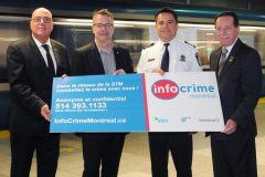 Campagne publicitaire Info-Crime Montréal