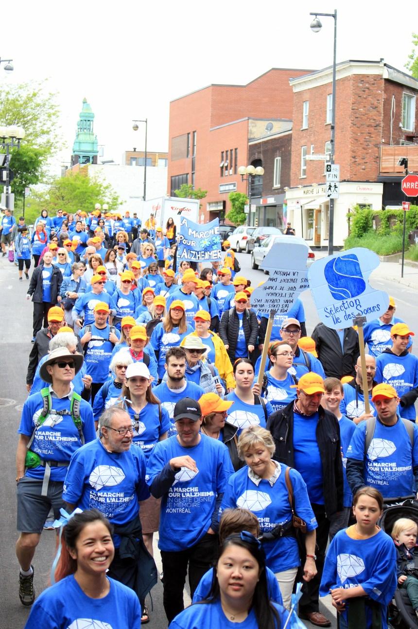 Marcher pour une bonne cause