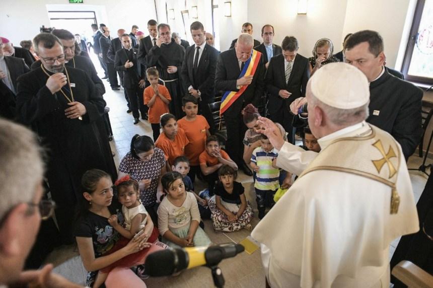 En attendant le Pape, les Roms de Roumanie rêvent d'un pays «sans discrimination»
