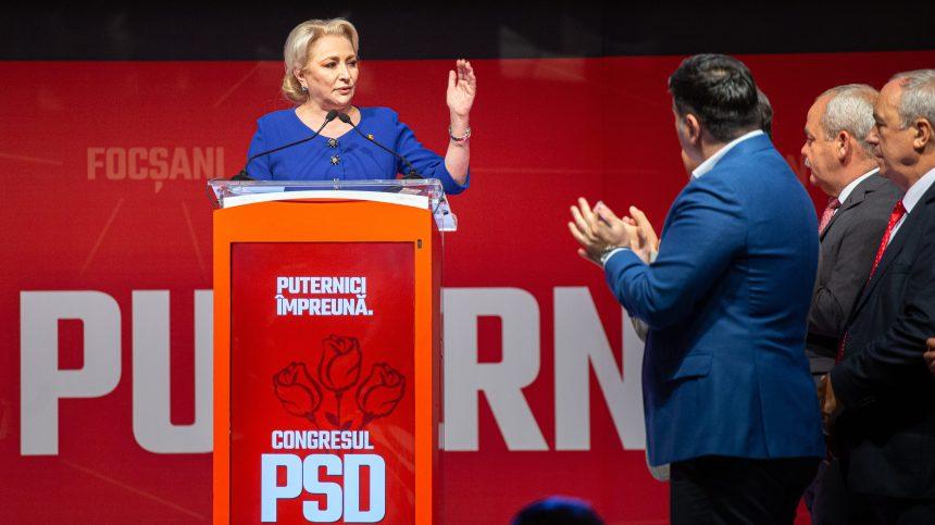 La Première ministre roumaine hérite du parti social-démocrate en crise