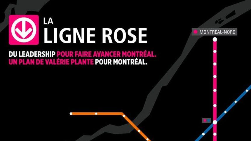 Ligne rose: Montréal-Nord n'est pas oublié, mais aucune date n'est avancée