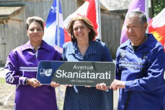 Une avenue nommée en l'honneur des Premières Nations dans le secteur de Lachine-Est
