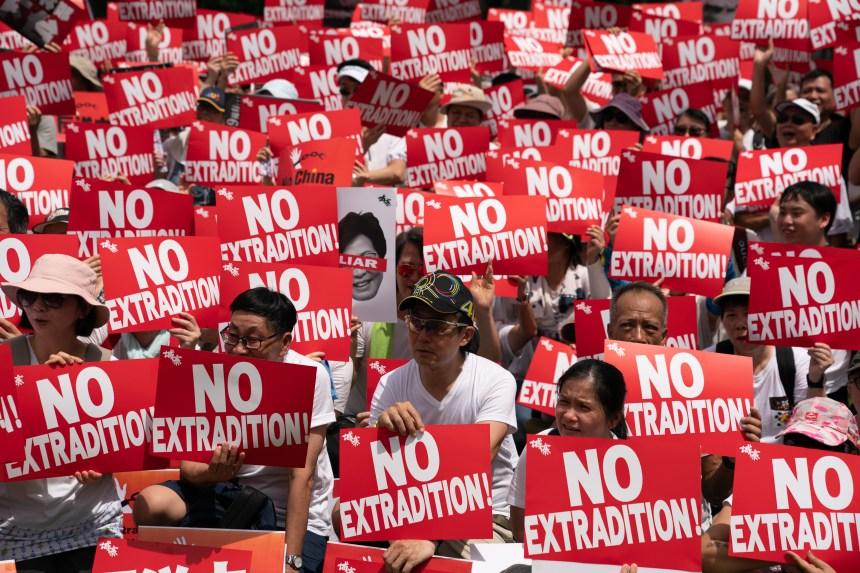 Hong Kong: la manifestation en photos