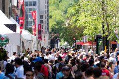 Grand Prix: ambiance au centre-ville de Montréal
