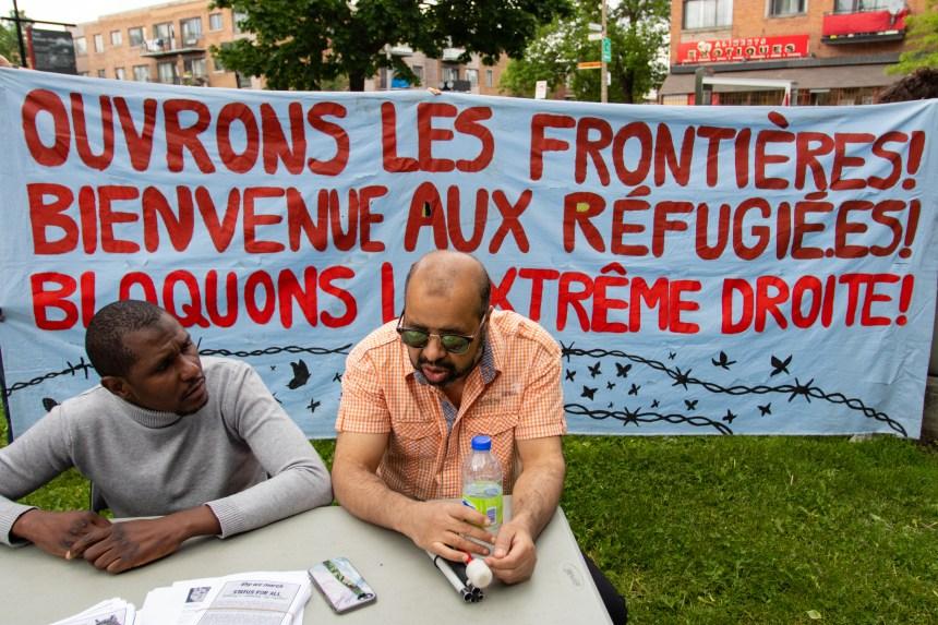 Manifestation pour exiger un «programme de régularisation complet» pour les personnes sans-papiers