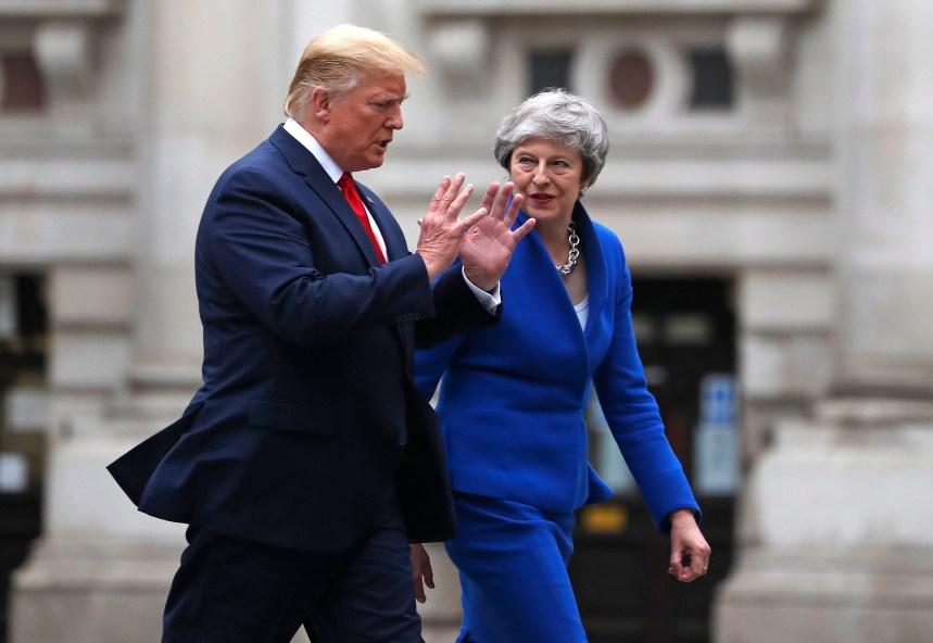 Donald Trump prédit un accord commercial «substantiel» avec le Royaume-Uni après le Brexit
