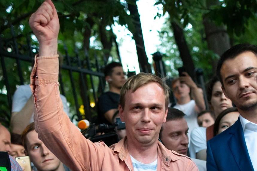 Russie: le journaliste Ivan Golounov disculpé après une mobilisation «historique»