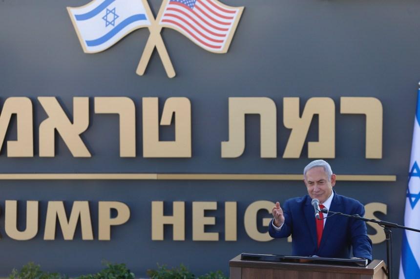 Plateau du Golan: Benyamin Netanyahou inaugure une colonie en l'honneur de Donald Trump