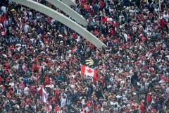 Le centre-ville de Toronto est envahi par les partisans des Raptors