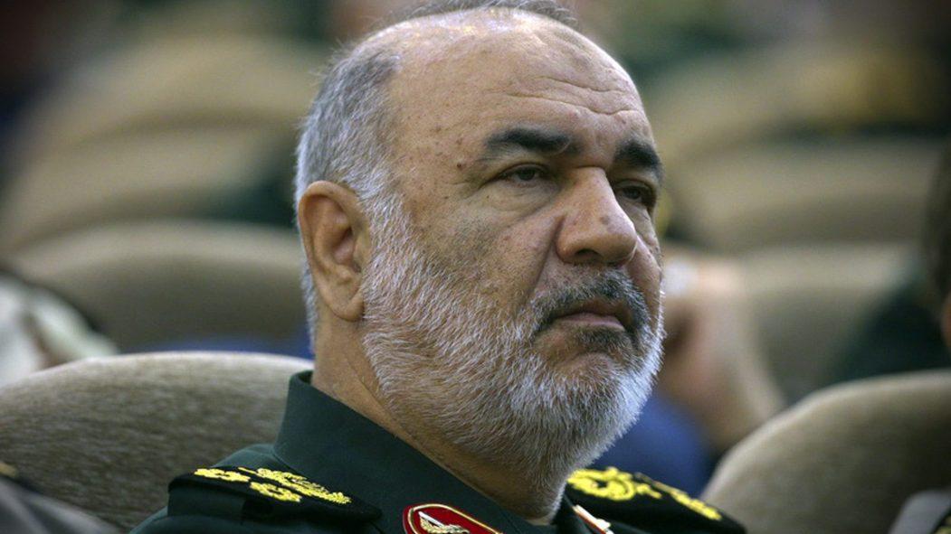 Le commandant général des Gardiens de la Révolution, l'armée idéologique en Iran, Hossein Salami