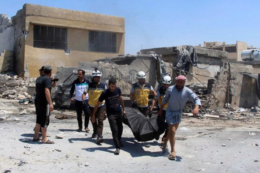 Syrie: huit civils tués dans des raids du régime