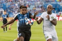 Deux buts d'Orji Okwonkwo permettent à l'Impact de battre les Timbers 2-1