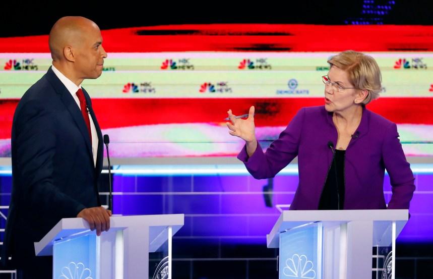 Un premier débat démocrate dominé par la prétendante à la Maison-Blanche Elizabeth Warren