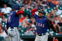 Une quatrième victoire de suite pour les Rangers du Texas, à Detroit