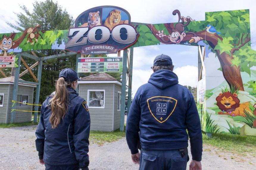 La CNESST ordonne le fermeture du Zoo de Saint-Édouard-de Maskinongé
