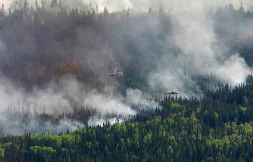 Feux de forêt : les évacués de High Level pourront revenir à la maison dès lundi