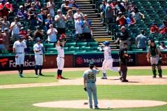 Les Rangers battent les Athletics 10-5 dans le premier duel d'un double