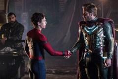 Spider-Man et Mysterio: complices devant et derrière l'écran