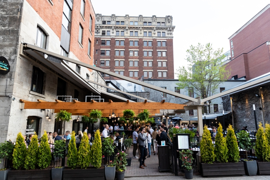 Manger en terrasse trois fois par jour à Montréal