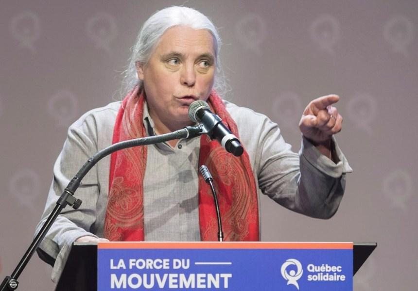 Manon Massé recueille les idées des jeunes contre les changements climatiques