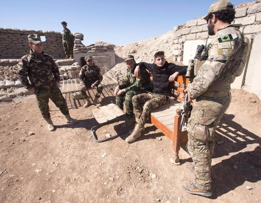 Les Kurdes d'Irak demandent l'aide militaire du Canada