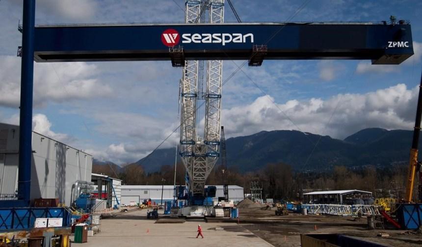 Davie pourrait hériter de la construction d'un brise-glace, retirée à Vancouver