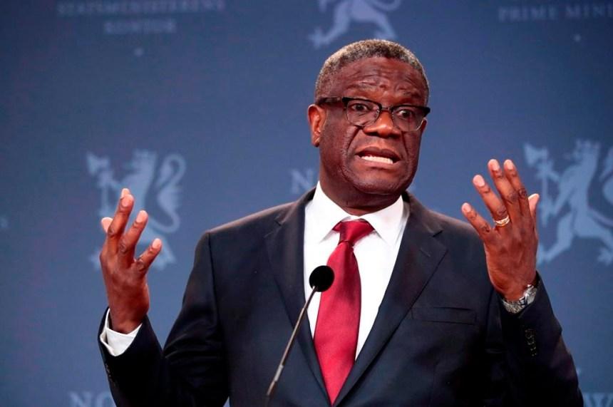 Le Prix Nobel de la paix, Dr Denis Mukwege, est en visite à Montréal