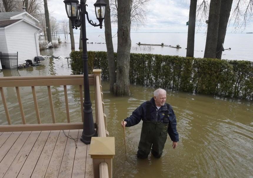 Les inondations n'ont pas fait chuter le marché des propriétés récréatives