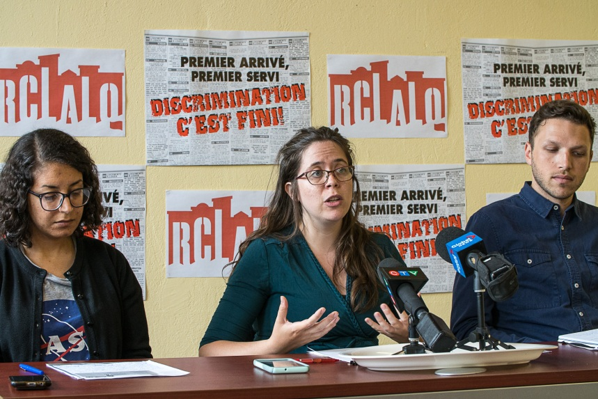 Logement: le RCLALQ somme Québec de créer «un plan d'urgence» contre la discrimination