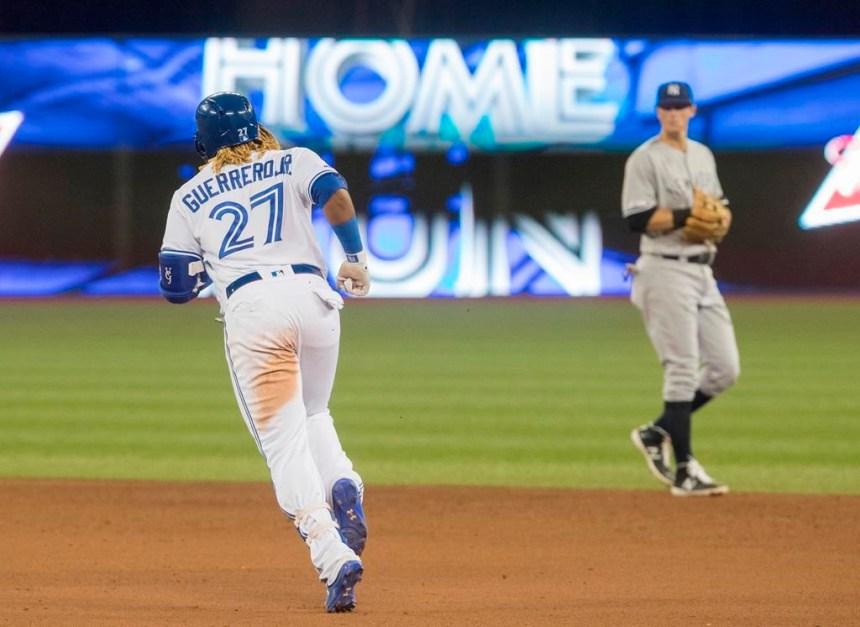 Guerrero: un circuit de 3 points dans un gain des Blue Jays contre les Yankees
