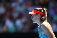 Internationaux d'Australie: Sharapova est vaincues en deux manches