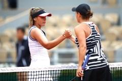 Sofia Kenin et Katerina Siniakova sont ramenées sur terre à Roland-Garros