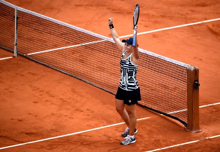 Sa victoire à Roland-Garros permet à Ashleigh Barty de s'approcher du sommet