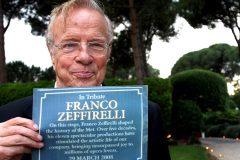 Mort du cinéaste italien Franco Zeffirelli à 96 ans