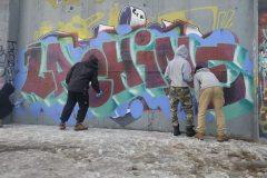 L'art des graffiti à l'Entrepôt de Lachine