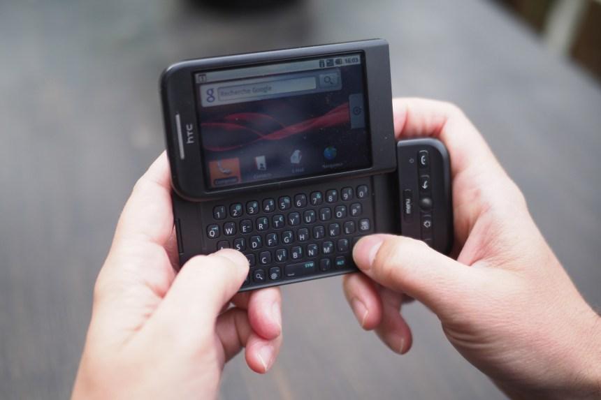 Une semaine avec le premier téléphone Android
