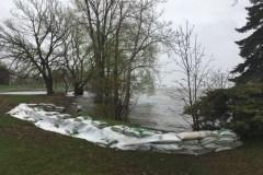 Contestation d'une nouvelle zone inondable à Dorval