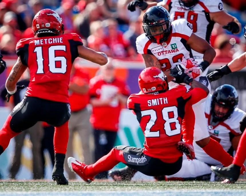 Le Rouge et Noir bat les Stampeders 32-28 en lever de rideau de leur saison