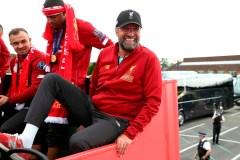 Liverpool célèbre sa victoire en finale de la Ligue des Champions