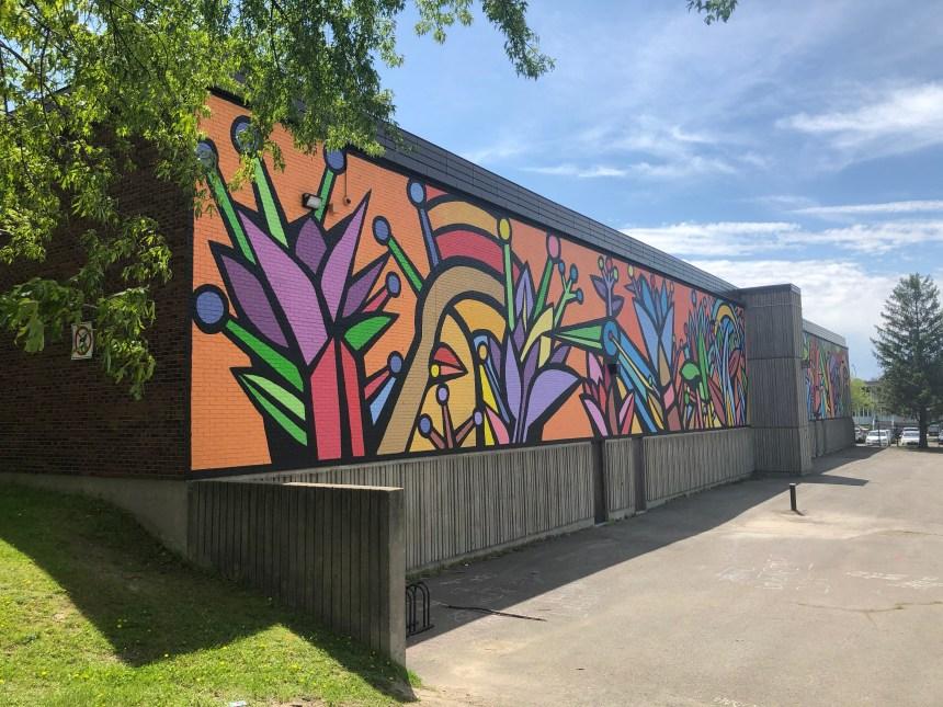 Montréal-Nord encadre l'art mural