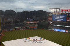 Pour une deuxième soirée de suite, la pluie fait des siennes à Washington