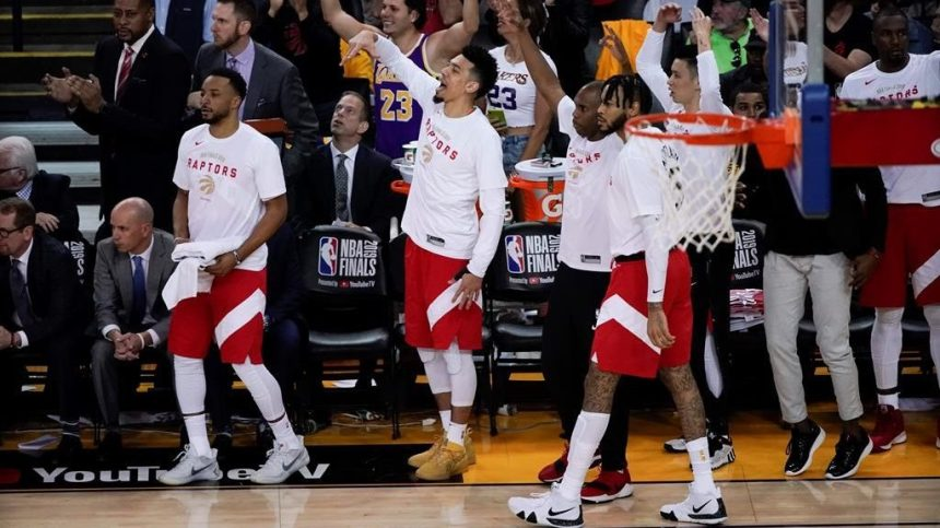Les Raptors gagnent 105-92 et s'approchent à un gain du titre de la NBA