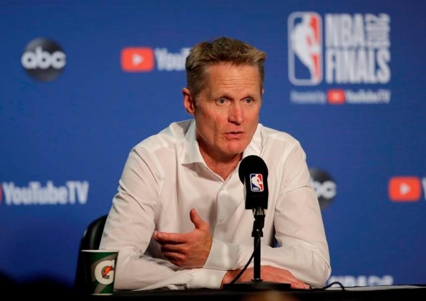Warriors-Raptors: Kevin Durant à l'entraînement, avant le match 5