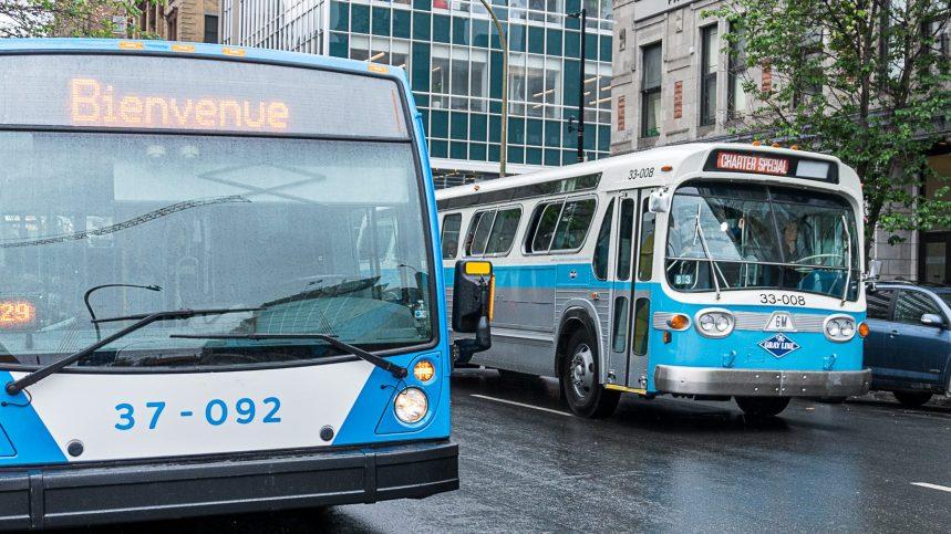 La STM souligne 100 ans d'autobus à Montréal avec diverses activités