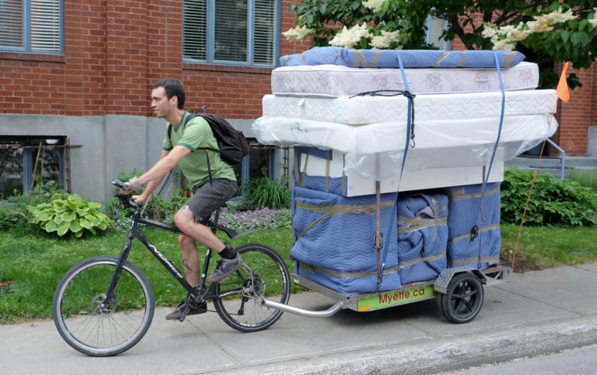 Déménager à vélo, c'est possible!