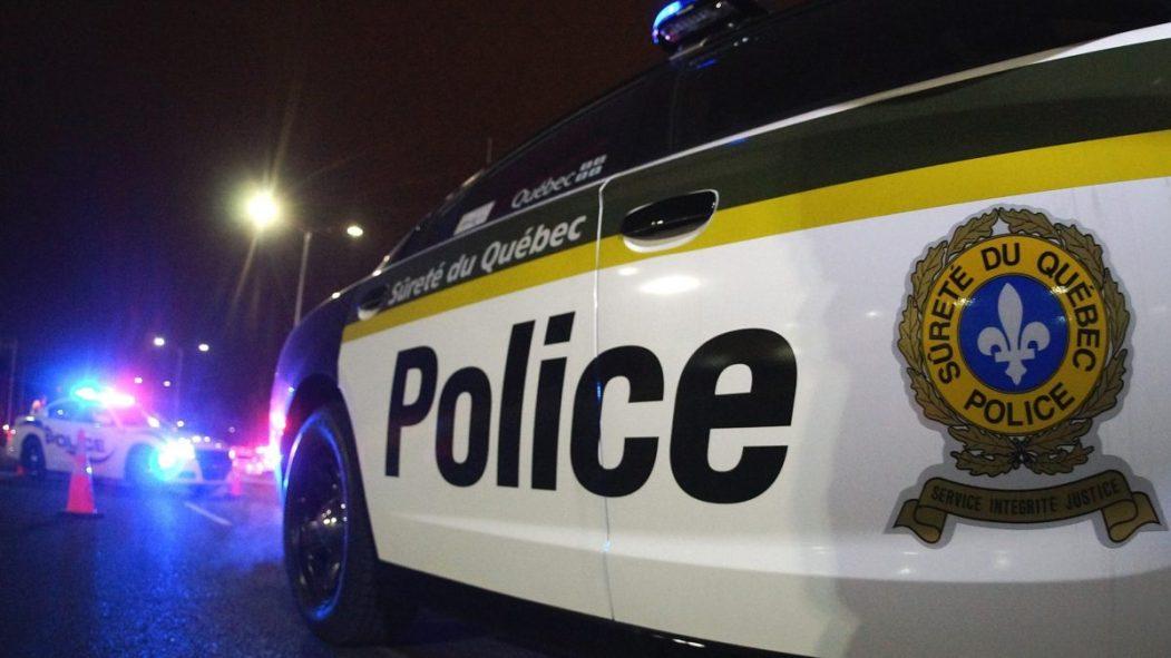 Un véhicule autopatrouille de la Sûreté du Québec.