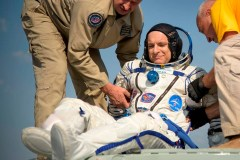 L'astronaute David Saint-Jacques se porte bien après son retour sur Terre