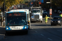 SRB Pie-IX: une voie réservée uniquement aux bus et taxis pour soulager la congestion